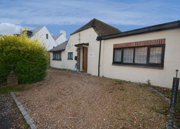 Thumbnail 3 bed semi-detached bungalow for sale in Firle Road, Seaford