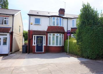 Thumbnail 3 bed semi-detached house for sale in Stanley Avenue, Birmingham