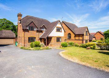 Crossborough Gardens, Basingstoke, Hampshire RG21. 5 bed detached house