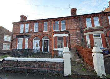 Thumbnail 4 bed terraced house to rent in Stringhey Road, Wallasey