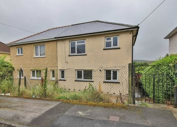 Thumbnail 2 bed semi-detached house for sale in Lansbury Road, Brynmawr, Ebbw Vale