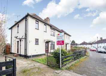 Thumbnail 3 bed semi-detached house for sale in Fullers Avenue, Tolworth, Surbiton