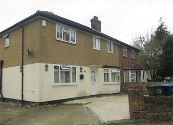 Thumbnail 5 bed semi-detached house for sale in Northumberland Avenue, Enfield, Greater London