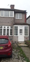 Thumbnail 3 bed semi-detached house to rent in Beam Avenue, Dagenham