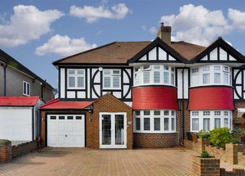 Thumbnail 5 bed semi-detached house for sale in Bradstock Road, Stoneleigh, Surrey