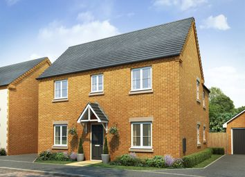"Thumbnail 4 bed detached house for sale in ""The Ludlow"" at Lodge Road, Cranfield, Bedford"