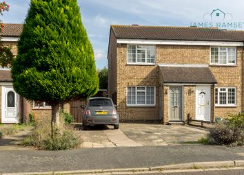 Thumbnail 2 bed end terrace house for sale in Hazelbank Road, Chertsey