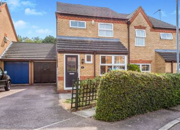 Thumbnail 3 bedroom semi-detached house for sale in Ditchford Close, Wootton, Northampton