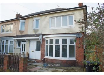 Thumbnail 3 bed semi-detached house to rent in Regent Road, Middlesbrough