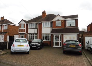 Thumbnail 4 bedroom semi-detached house for sale in Hawthorne Road, Castle Bromwich, Birmingham