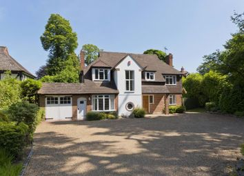 Thumbnail 4 bed detached house to rent in Granville Road, Weybridge