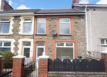Thumbnail 2 bed terraced house for sale in Waunborfa Road, Cefn Fforest, Blackwood