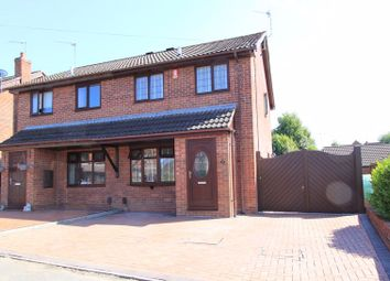 Thumbnail 3 bed semi-detached house for sale in Briarbank Close, Stoke-On-Trent
