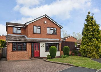 Thumbnail 5 bedroom detached house for sale in Green Meadows, Heath Hayes, Cannock