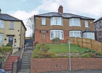 Thumbnail 3 bed semi-detached house for sale in Period Semi-Detached House, Queens Hill Crescent, Newport