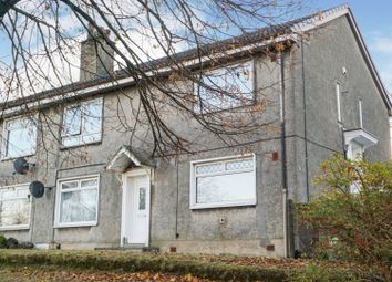 Thumbnail 2 bed flat for sale in Glenburn Crescent, Paisley