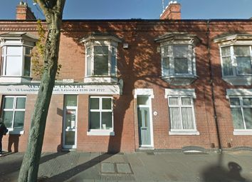 Thumbnail 3 bed terraced house to rent in Loughborough Road, Leicester