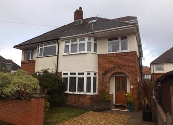 Thumbnail 4 bedroom semi-detached house for sale in Upper Shirley, Southampton, Hampsire