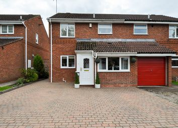 Thumbnail 3 bed semi-detached house for sale in Abbotswood Close, Redditch