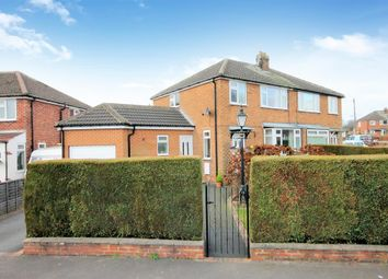 Thumbnail 3 bed semi-detached house for sale in Wedderburn Close, Harrogate