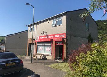 Thumbnail Retail premises for sale in Oakwood, Maesteg