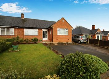 Thumbnail 2 bed semi-detached bungalow for sale in Abbots Way, Westlands, Newcastle Under-Lyme, Staffordshire