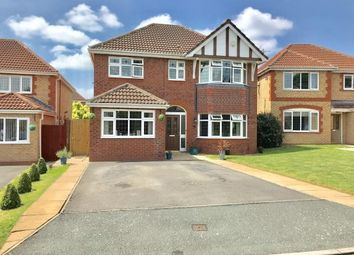 Thumbnail 5 bed detached house for sale in Turnberry Avenue, Wrexham, Wrecsam