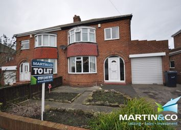 Thumbnail 3 bed semi-detached house to rent in Cortina Avenue, Barnes, Sunderland