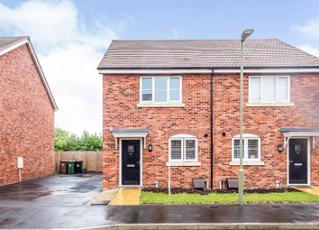 Thumbnail 2 bed semi-detached house for sale in Rooks End, Grove, Wantage