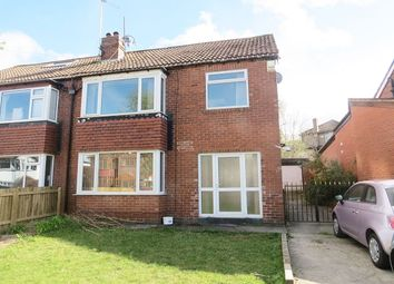 Thumbnail 3 bed semi-detached house to rent in Sandhill Oval, Alwoodley, Leeds
