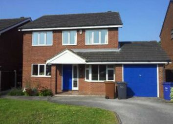 Thumbnail 4 bed detached house to rent in Elwyn Close, Burton On Trent, Staffs