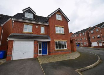 Thumbnail 5 bed detached house for sale in Oakfield Close, Norton, Stoke-On-Trent