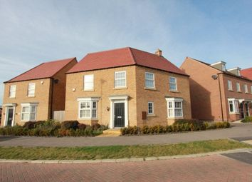 Thumbnail 4 bed detached house to rent in William Spencer Avenue, Sapcote, Leicester