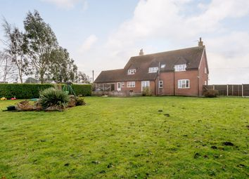 Thumbnail 5 bed detached house for sale in Dereham Road, Thuxton, Norwich