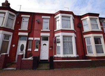 Thumbnail 3 bed terraced house for sale in Birkenhead Road, Wallasey