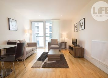 Thumbnail 1 bed flat to rent in Denison House, Lanterns Court, 20 Lanterns Way, London