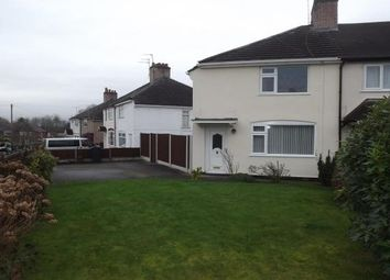 Thumbnail 3 bed semi-detached house to rent in Alfred Street, Northwich
