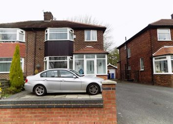 Thumbnail 3 bed property for sale in Longford Road West, Reddish, Stockport