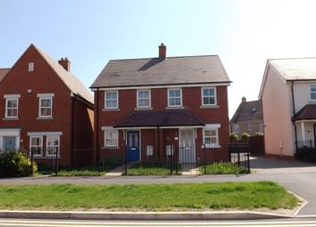 Thumbnail 2 bed semi-detached house to rent in Venus Avenue, Biggleswade