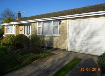 Thumbnail 2 bed bungalow to rent in Wenton Close, Cottesmore, Oakham, Rutland
