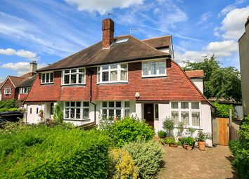 Thumbnail 4 bed semi-detached house to rent in Park Road, Twickenham