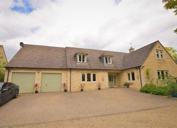 Thumbnail 4 bed detached house to rent in Essendine Road, Ryhall, Stamford