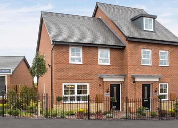 """Thumbnail 3 bedroom end terrace house for sale in """"Maidstone"""" at Woodcock Square, Mickleover, Derby"""