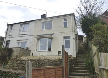 Thumbnail 3 bedroom semi-detached house for sale in Billacombe Road, Plymstock, Plymouth