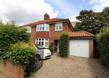 Thumbnail 3 bedroom semi-detached house for sale in Victoria Street, Norwich