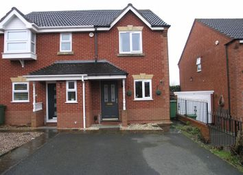 Thumbnail 2 bed semi-detached house for sale in Barnswood Close, Halesowen