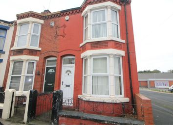 Thumbnail 3 bed end terrace house for sale in Croxteth Avenue, Litherland, Liverpool, Merseyside
