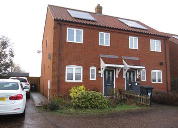 Thumbnail 2 bed semi-detached house for sale in Heydon Road, Corpusty, Norwich