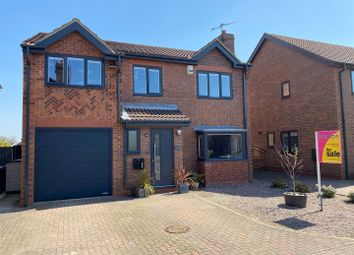 Thumbnail 4 bed detached house for sale in Pine Tree Close, Thorpe Willoughby, Selby