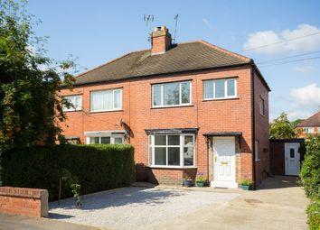 Thumbnail 3 bed semi-detached house for sale in Danum Drive, Fulford, York